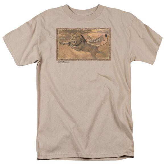 Wildlife The Rush Short Sleeve Adult Sand T-Shirt