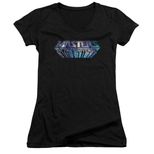 Masters Of The Universe Space Logo Junior V Neck T-Shirt
