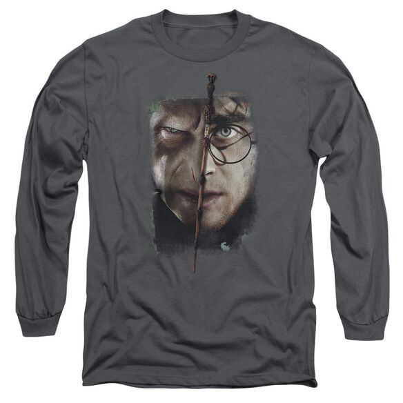 Harry Potter It All Ends Here Long Sleeve Adult T-Shirt
