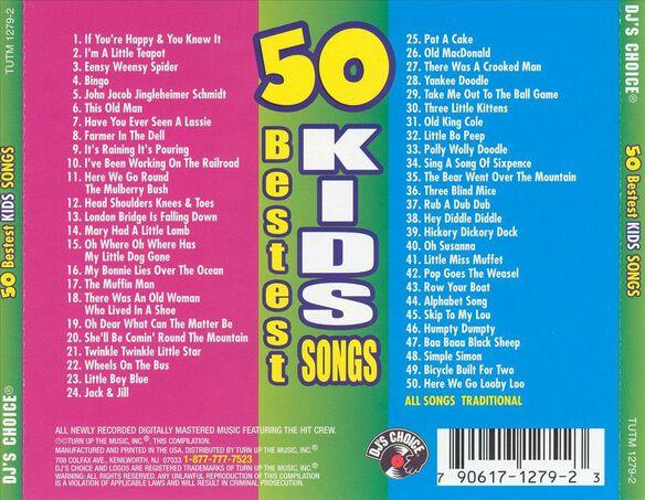 50 Bestest Kid Songs 0602