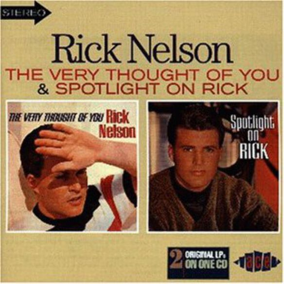 Rick Nelson - Very Thought of You