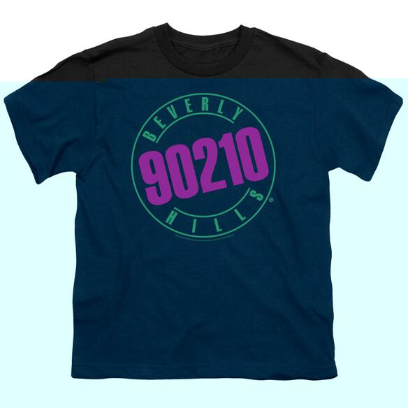 90210 NEON - S/S YOUTH 18/1 - BLACK T-Shirt