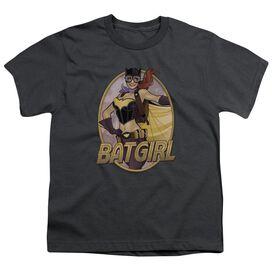 Jla Batgirl Bombshell Short Sleeve Youth T-Shirt