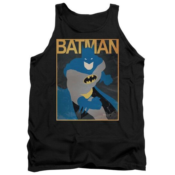 Batman Simple Bm Poster Adult Tank