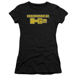Hummer H2 Block Logo Premium Bella Junior Sheer Jersey