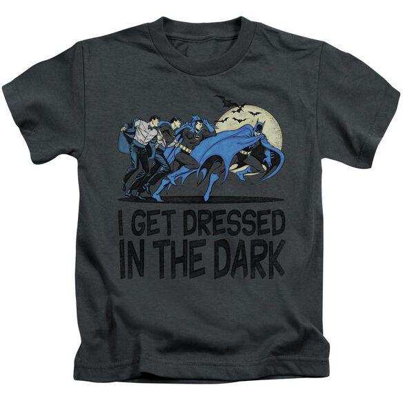 Dc Get Dressed Short Sleeve Juvenile Charcoal Md T-Shirt