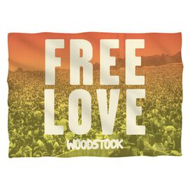 Woodstock Quoteable (Front Back Print) Pillow Case