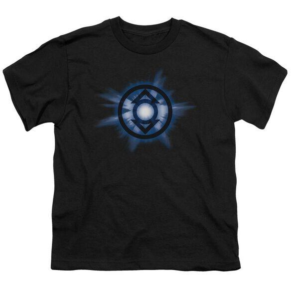 Green Lantern Indigo Glow Short Sleeve Youth T-Shirt