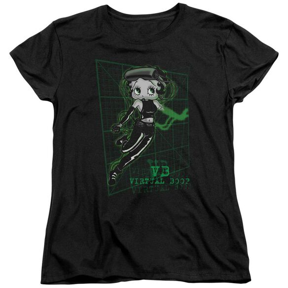 Betty Boop Virtual Boop Short Sleeve Womens Tee T-Shirt