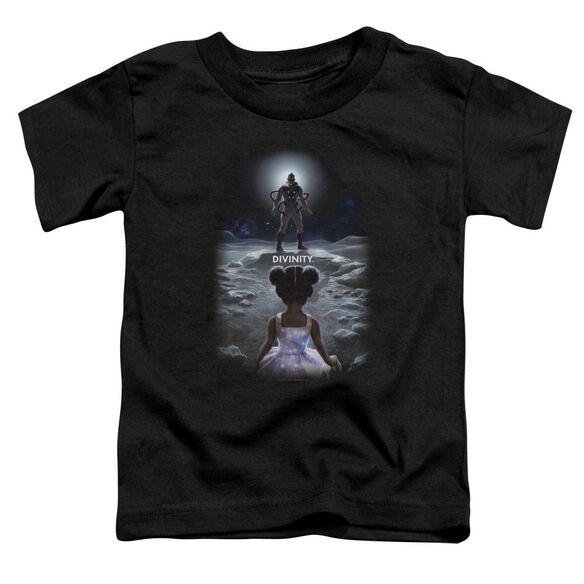 Valiant Divinity Child Short Sleeve Toddler Tee Black T-Shirt