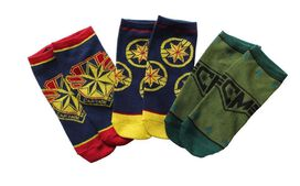 Captain Marvel Junior Socks Pack [3 pairs]