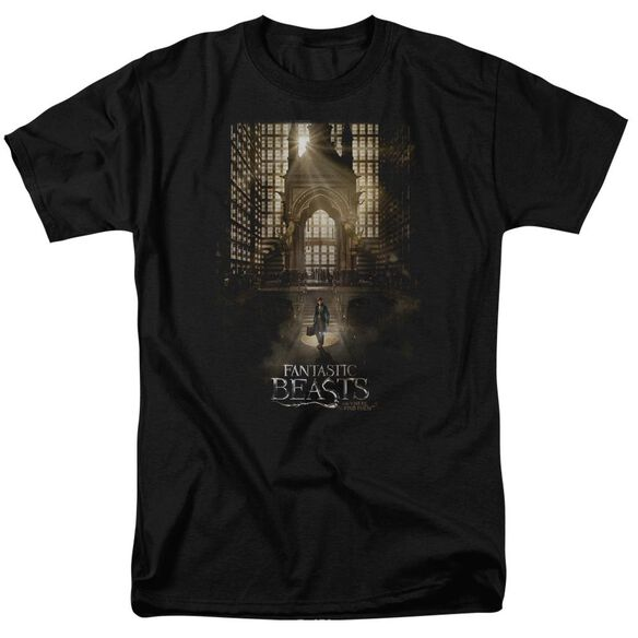 Fantastic Beasts Poster Short Sleeve Adult T-Shirt