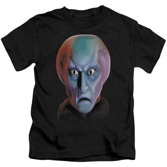 STAR TREK BALOK HEAD - S/S JUVENILE 18/1 - BLACK - T-Shirt