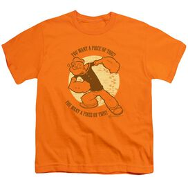 Popeye You Want A Piece Of This? Short Sleeve Youth T-Shirt