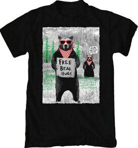 Riot Society Free Bear Hugs T-Shirt