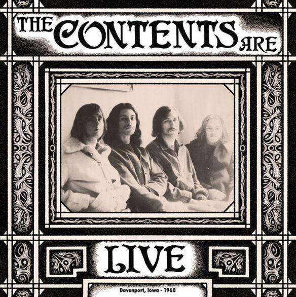 The Contents Are - Live Davenport Iowa 1968