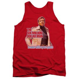 Six Million Dollar Man Spare Parts Adult Tank