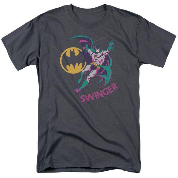 Dco Swinger Short Sleeve Adult Charcoal T-Shirt