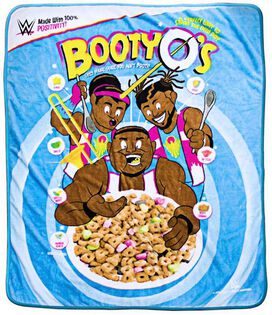 WWE: New Day Booty O's Blanket