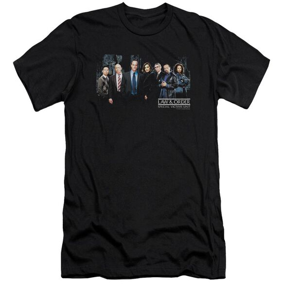 Law And Order Svu Cast Premuim Canvas Adult Slim Fit