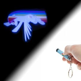 My Little Pony Rainbow Dash Flashlight Keychain