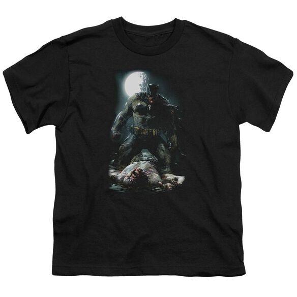 Batman Mudhole Short Sleeve Youth T-Shirt