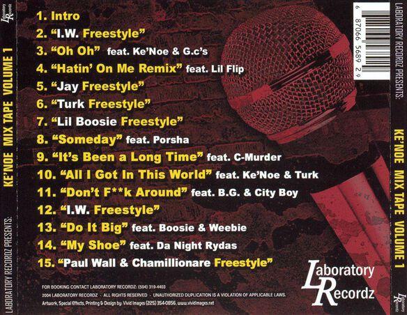 Mix Tape V1 0304