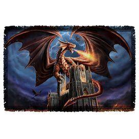 Anne Stokes Dragons Fury Woven Throw