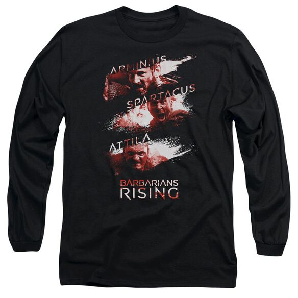 Barbarians Rising Barbarian Splash Long Sleeve Adult T-Shirt