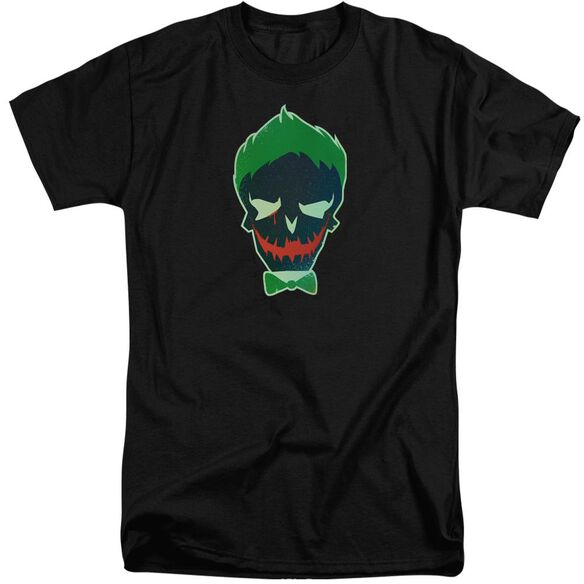 Suicide Squad Joker Skull Short Sleeve Adult Tall T-Shirt