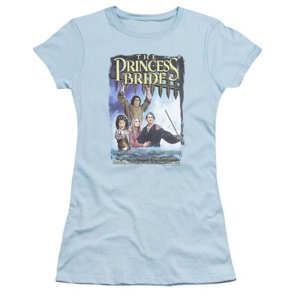Princess Bride Alt Poster Short Sleeve Junior Sheer Light T-Shirt