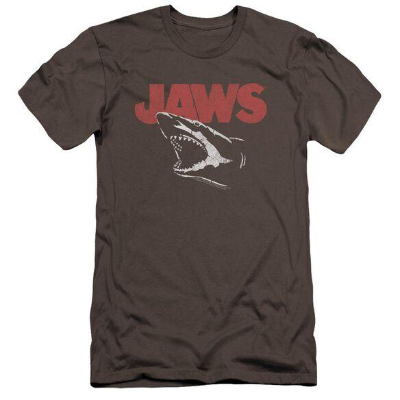 Jaws Cracked Jaw Premuim Canvas Adult Slim Fit