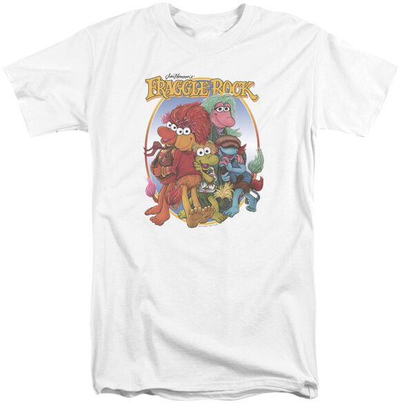 Fraggle Rock Group Hug Short Sleeve Adult Tall T-Shirt