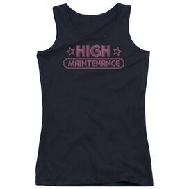 High Maintenance - Juniors Tank Top - Black