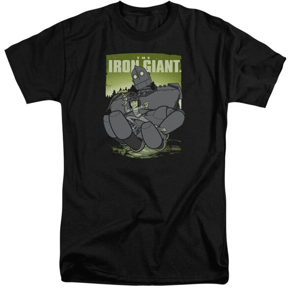 Iron Giant Helping Hand Short Sleeve Adult Tall T-Shirt