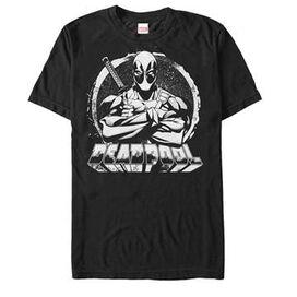 Deadpool Mono Cross T-Shirt