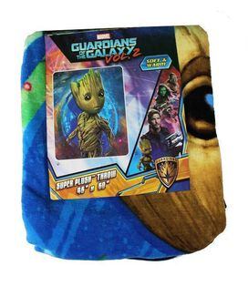 Guardians of the Galaxy Vol. 2 Groot Super Plush Throw Blanket