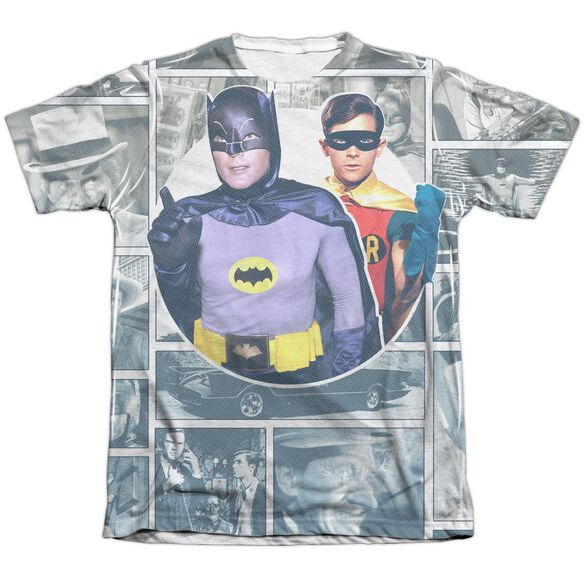 Batman Classic Tv 60 S Panels Adult Poly Cotton Short Sleeve Tee T-Shirt