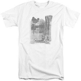 Woodstock Hippies In A Field Short Sleeve Adult Tall T-Shirt