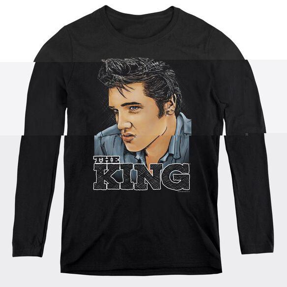 Elvis Presley Graphic King-womens Long