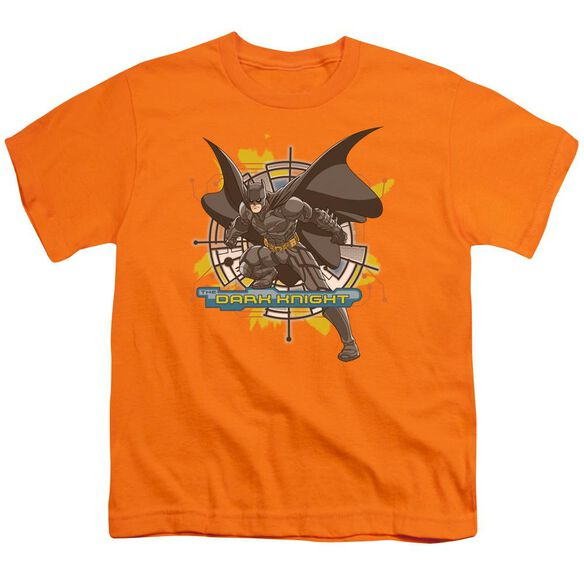 Dark Knight Wired In Short Sleeve Youth T-Shirt