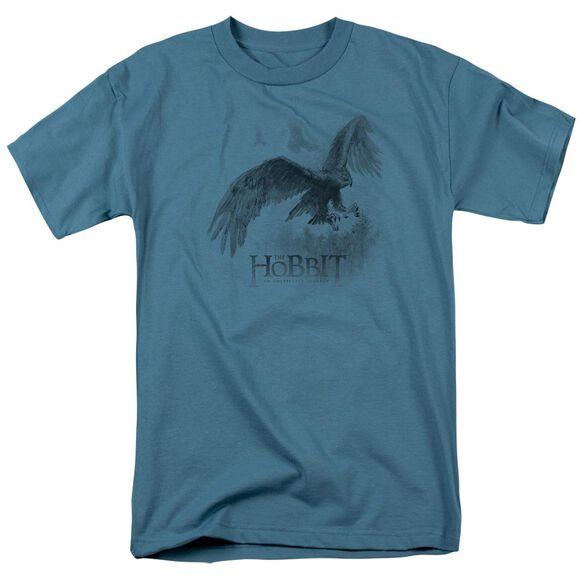 The Hobbit Great Eagle Sketch Short Sleeve Adult Slate T-Shirt