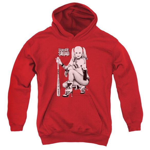 Suicide Squad Kneel Youth Pull Over Hoodie
