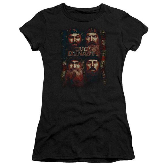 Duck Dynasty American Dynasty Hbo Short Sleeve Junior Sheer T-Shirt