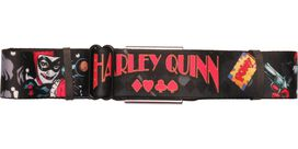 Harley Quinn Comic Wrap Seatbelt Belt