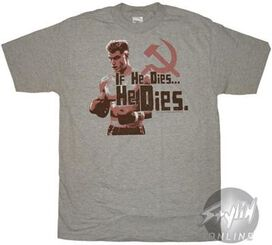 Rocky He Dies T-Shirt