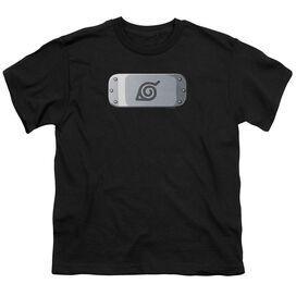 Naruto Shippuden Leaves Headband Short Sleeve Youth T-Shirt
