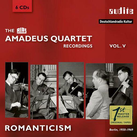 Romanticism: Rias Amadeus Quartet Recordings 5