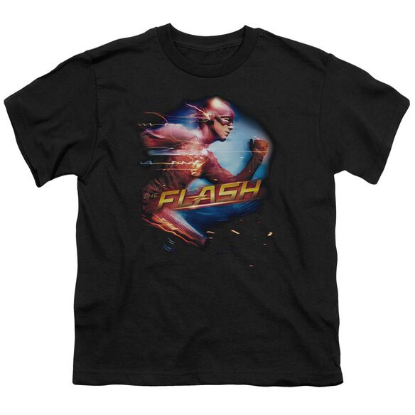 The Flash Fastest Man Short Sleeve Youth T-Shirt