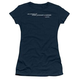 THE GOOD WIFE LAW OFFICES - S/S JUNIOR SHEER T-Shirt